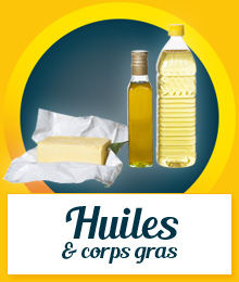 Univers Huiles & Corps gras